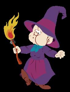 Mylaidy la sorcière