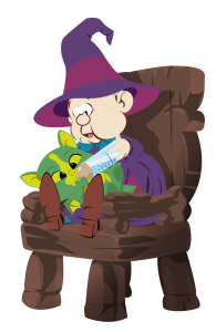 Mylaidy, livre jeunesse de la petite sorcière